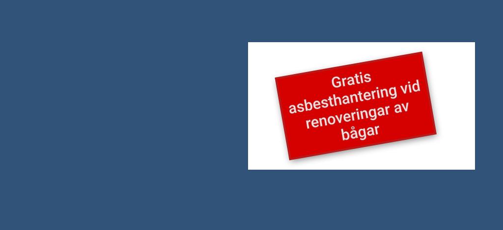 Asbesthantering